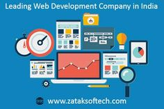 Going online with your business is a bold and dynamic move for promotion of your business. If you are present online then, the chances of your product to a lot of people are much better than the other modes of advertising or marketing. If you are looking for the best web development company in India then, Zatak Softech is the right place for you. For further queries email @ info@zataksoftech.com.