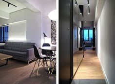 Invader Apartment in Hong Kong by OneByNine | HomeDSGN, a daily source for inspiration and fresh ideas on interior design and home decoration.
