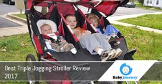 Best triple jogging stroller review 2017