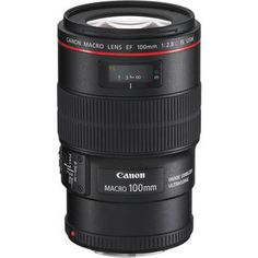 Canon EF 100mm f/2.8L Macro IS USM Lens / This is my go to for doing product shots. You can get really close and grab crazy detail. It also works well for portraits. It has lots of tight compression and f/2.8. http://www.bhphotovideo.com/c/product/647011-GREY/Canon_3554B002_EF_100mm_f_2_8L_Macro.html