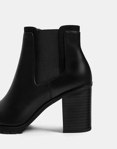Elastic high heel ankle boots. Discover this and many more items in Bershka with new products every week