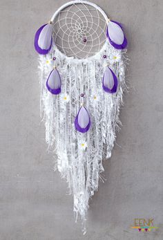 Dreamcatcher- Reserve Listing For Becky by eenk on Etsy