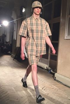 Gosha Rubchinskiy s collaboration with Burberry   Source  Business of  Fashion Gosha Rubchinskiy, Collaboration, af63db49567