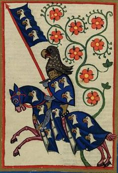 Cod. Pal. germ. 848 - Codex Manesse, f. 184v