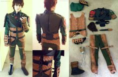 Hiccup cosplay HTTYD 2