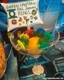 Green Lantern Rings. Batman Birthday Party Ideas. Superhero Birthday Party. Food, Decorations, and Fun. The Joker, Harley Quinn, Superman, Justice League, Suicide Squad, and more!