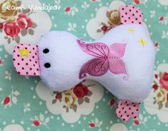 Cute Personalised Fairy Duckling by SeamsVundabarUK on Etsy