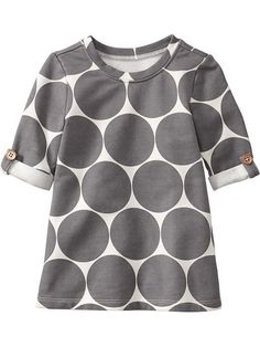 Old Navy | Printed-Dot Jersey Tunics for Baby