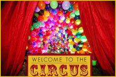 Bat Mitzvah Circus Celebration