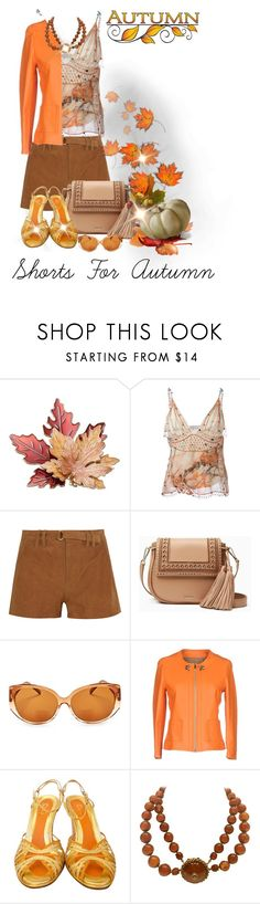 """""""Autumn Is Near"""" by shamrockclover ❤ liked on Polyvore featuring Christopher Kane, Frame, Kate Spade, Corinne McCormack, Atos Lombardini, Dolce&Gabbana and Miriam Haskell"""