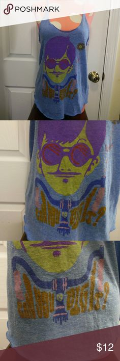 "Obey Graphic ""Can You Dig It?"" Tank Great condition. Obey Tops Tank Tops"