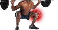 Preventing knee pain during squats