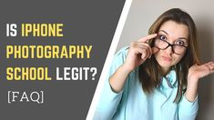 Is iPhone Photography School legit? Is it worth it? Are there any complaints about iPhone Photography School courses? I answer the 7 frequently asked questio. Iphone Photography, Mobile Photography, Beauty Photography, Amazing Photography, Best Online Photography Courses, Watch Youtube Videos, Photography School, Buy Iphone, Iphone Camera