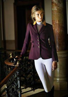 Purple show jacket. Lovely.