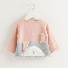 Victory! Check out my new Lovely Bunny Color-block Knit Sweater for Baby and Toddler Girls, snagged at a crazy discounted price with the PatPat app.