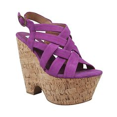 LIVV Purple Wedge by Steve Madden. My new summer wedges, please?