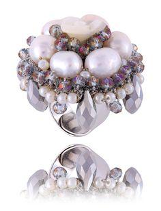 By Dziubeka, Maya's Secrets Ornament Wreath, Best Sellers, Jewellery, Rings, How To Wear, Jewels, Jewelry Shop, Jewerly, Ring