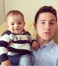 More baby cuteness with Ander Herrera!