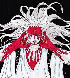 #naruto #kaguya #eyes #manga