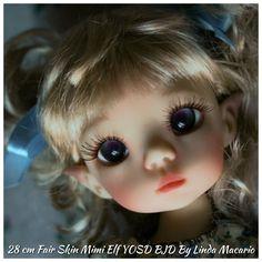Sold Out 28 cm Fair Skin Mimi Elf YOSD BJD by Linda Macario