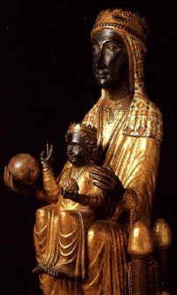 Notre Dame de Chartres, la Vierge Noire de la cathédrale