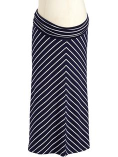 Old Navy Maternity Chevron Stripe Maxi Skirt