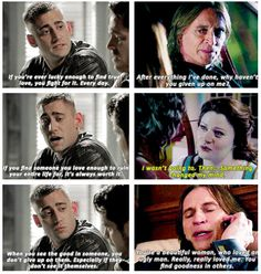 """When Will Scarlett unknowingly described Rumbelle: 