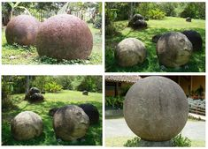 The Giant Spheres of Costa Rica follow an intricate pattern!   Ancient Code
