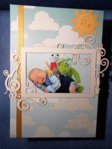 Stampin Up Babyalbum zur Geburt