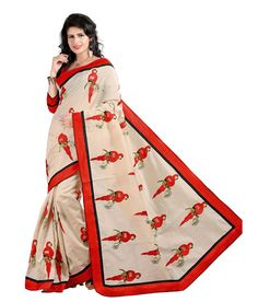 Shop Online for Yeoja Multicolour Work Chanderi Saree With Blouse Piece in India at Voonik.com, 2004463 ✓Easy Returns ✓Pan india Shipping ✓Affordable Prices ✓Cash On Delivery