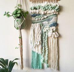 40 colour Wool knitting wool Woolen Yarn Wool Knitting Yarn DIY Handmade knitted Christmas present Hat blanket scarf Socks-in Yarn from Home & Garden on Weaving Wall Hanging, Weaving Art, Loom Weaving, Tapestry Weaving, Hand Weaving, Wall Hangings, Diy Hanging, Knitting Yarn Diy, Arm Knitting
