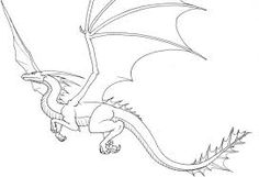 dragon easy drawing flying simple sketch drawings cool draw creatures cartoon result magical tattoo head related fire