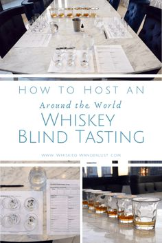 How to host an around the world whiskey blind tasting (even if you're participating!), including the best bottles of whiskey to use. Beer Tasting Birthday, Wine Tasting Party, Wine Parties, 40th Birthday Quotes, 40th Birthday Cakes, Wife Birthday, Birthday Images, Birthday Gifts, Happy Birthday