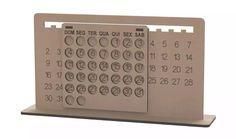 9to5 laser cut perpetual calendar