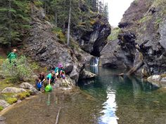 Canyon campground..... Family Adventures in the Canadian Rockies: The Best Family Campground in Kananaskis
