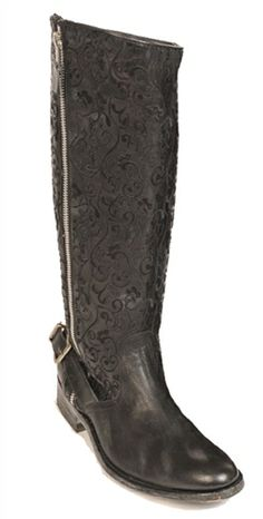 Old Gringo Women's Black Flame Boots   SouthTexasTack.com