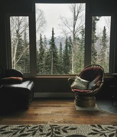 Comfortable cabin with the great view