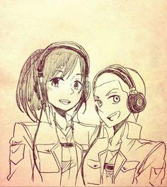 Sasha x Connie