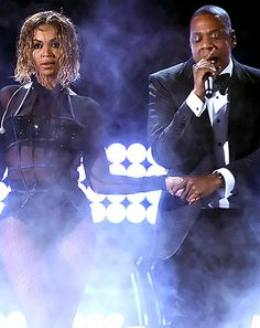 """Beyonce, Jay Z Open Grammys 2014 With Sexy """"Drunk in Love"""" Performance - Us Weekly"""