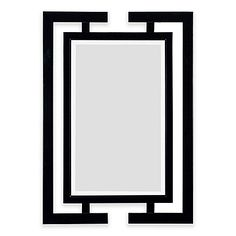 Kenroy Home 29-Inch x 41-Inch Shinto Mirror in Black