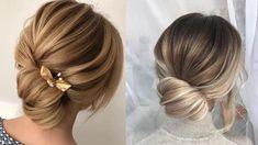 Low Bun Hairstyles || Elegant Low Bun Hairstyles Ideas 2018  ||  Valentines Day Hairstyles Ideas - YouTube