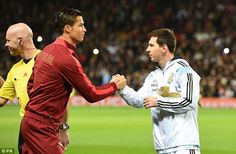Messi and Ronaldo have established themselves as the two best players in the world over the last decade