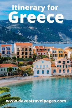 Are you set on planning your own trip to Greece? These Greece travel itinerary guides are a great place to start!  #greece #itinerary #travelitinerary #santorini #greekislands #athens #europe #travelplanning