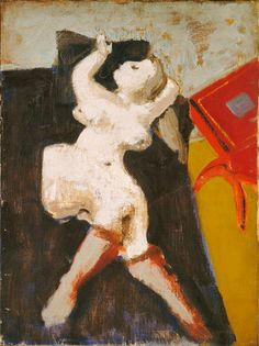 Mark Rothko, Untitled (Reclining Nude), 1937/1938