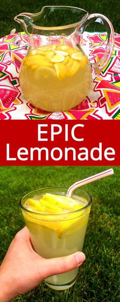 OMG best ever! Love this freshly squeezed homemade lemonade! This is the only lemonade recipe I'll ever need!