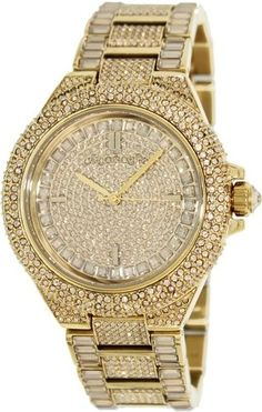 Michael Kors Women's Camille MK5720 Gold Stainless-Steel Quartz Watch #MichaelKors #FashionWatches