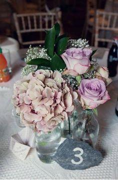 Roses Gyp Hydranga Hard Ruscus #wedding, #weddings, #pinsland, https://apps.facebook.com/yangutu