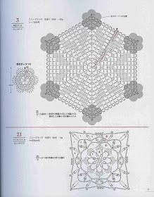 Loza: crochet motifs