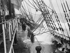 Under sail in heavy weather on the 'Parma' | Flickr - Photo Sharing!