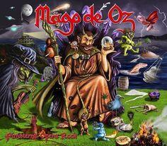 La portada del próximo disco de Mägo de Oz diseñada por el joven ilustrador vallisoletano Marcos Rodríguez. Felicidades!